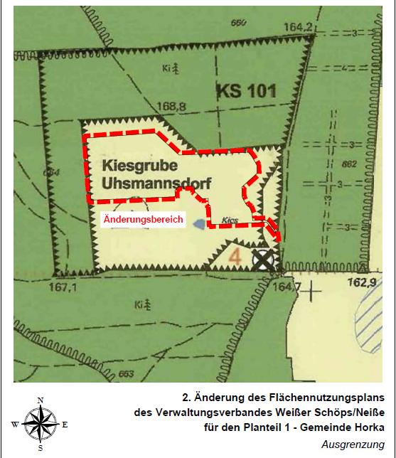 2. Änderung des Flächennutzungsplans des Verwaltungsverbandes Weißer Schöps/ Neiße