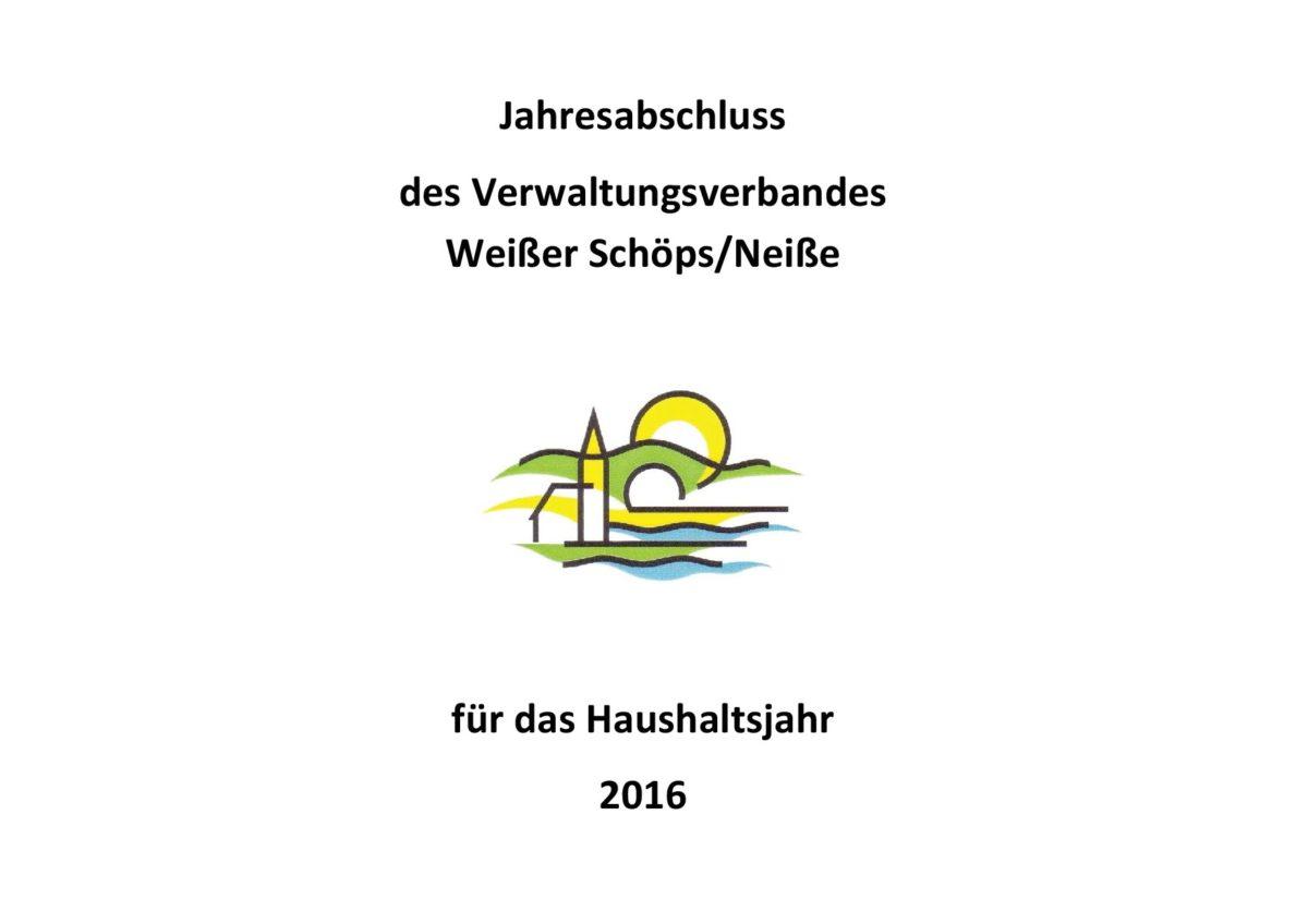 Jahresabschluss 2016